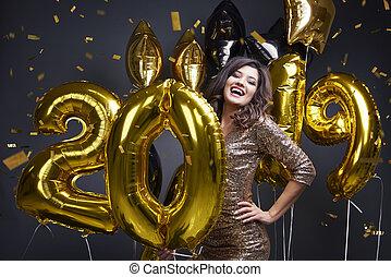 everybody, čerstvý, šťastný, rok