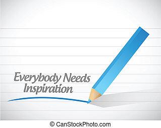 everybody, behoeftes, ontwerp, illustratie, inspiratie