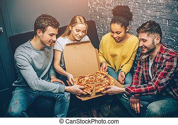 everybody, immagine, now., destra, gruppo, anymore, pizza., studenti, pace, essi, esso, affamato, notte, così, volere, presa a terra, festa, dove, mangiare, can't, attesa