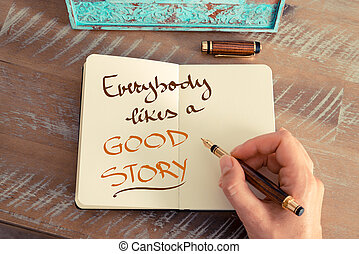 everybody, pohádka, dobro, text, záliby, rukopisný