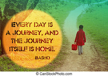 everyday is a journey