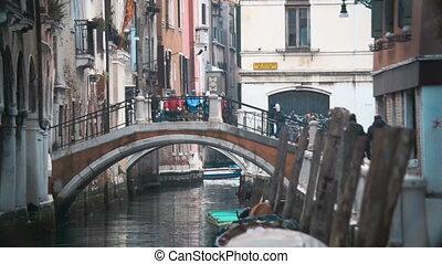 Everyday Life of Venice, Italy