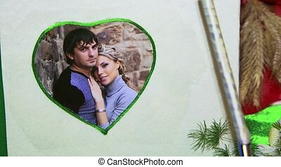 Everyday Romance - Photo of young couple in a frame