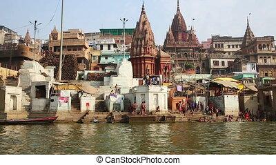 Everyday scene in Varanasi