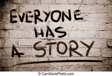 everyone, 은 있는다, a, 이야기, 개념