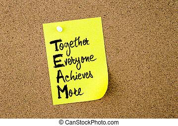 everyone, business, acronyme, ensemble, réalise, équipe, plus
