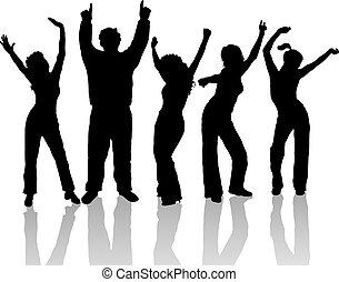 Everyone dance - People dancing