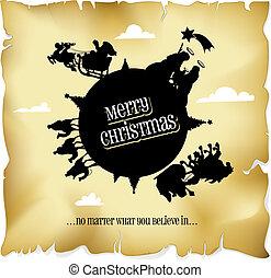 everyone, kerstmis, vrolijk