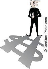 Evil Business Man Cartoon
