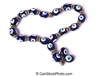 Evil eyes bracelet - amulet that is beleived to protect against an evil eye