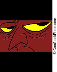 Evil eyes - Creative design of evil eyes