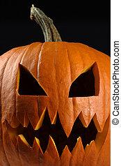 Evil pumpkin for halloween