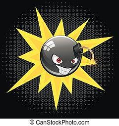 Evil Round Bomb