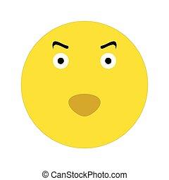Evil smiley icon