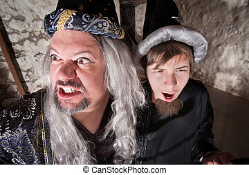 Evil Wizard with Son