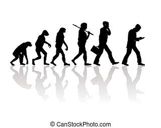 Evolition - Abstract illustration of evolution