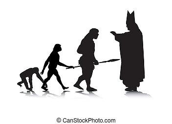evolución, 5, humano