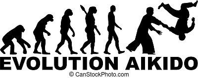 evolución, aikido