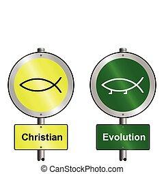 evolución, cristiano