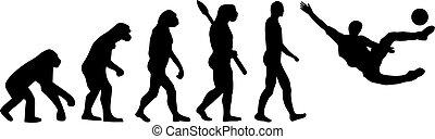 evolución, fútbol americano del fútbol, sidekick