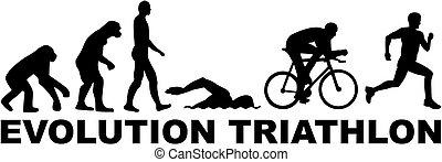 evolución, triatlón