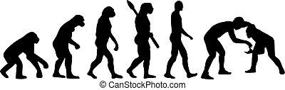evolutie, worstelen