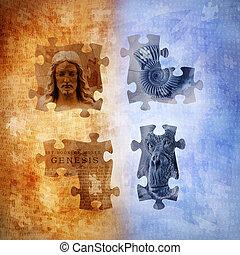 Evolution and Creationism - Evolution and creationism...
