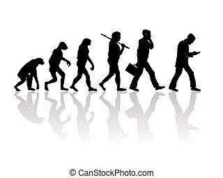 Evolution - Abstract illustration of evolution