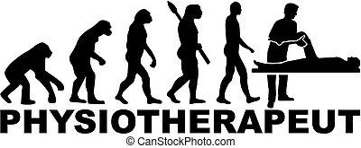 evolution., duitser, title., werk, therapist, lichamelijk