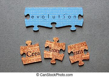 Evolution Match Creationism Mismatc - Evolution against...