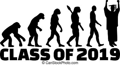 Evolution of class of 2019 with graduate
