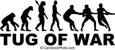 Evolution tug of war