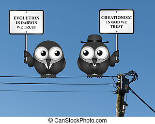 Evolution verses Creationism - Comical scientific Evolution...