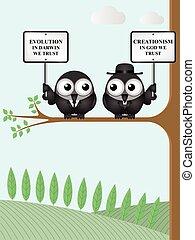 Evolution verses Creationism - Scientific Evolution theory...