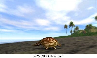 Evolution - 3d Animation of a lizard slowly transforming...