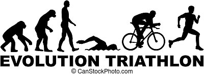 evolutionsphasen, triathlon