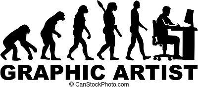 evoluzione, artista