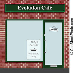evoluzione, caffè