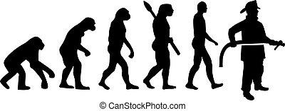evoluzione, pompiere