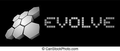 Evolve card - Creative design of Evolve card