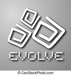 Evolve cover - Creative design of evolve cover