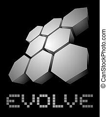 Evolve tech evolution - Creative design of Evolve tech...