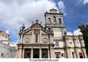 Evora, Portugal - Renaissance architecture in Evora town, ...