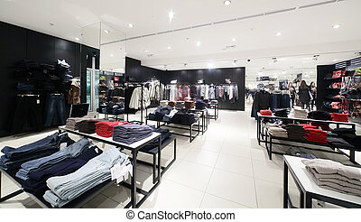 evropský, zbrusu nový, clothes nákup