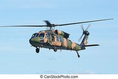 exército, chopper, blackhawk