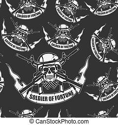 exército, fundo, seamless