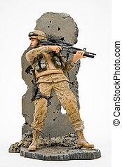 exército, solider