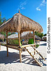 exótico, centro vacacional de playa