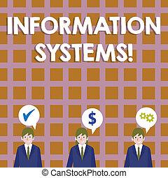 exacto, información, empresa / negocio, referencia, foto, actuación, optimization, icons., escritura, systems., showcasing, coste, discurso, sistemas, mano, conceptual, tiene, burbuja, estudio, hombres de negocios