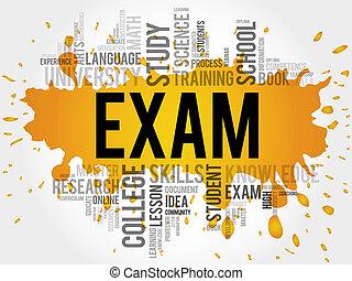 exam., 教育, 単語